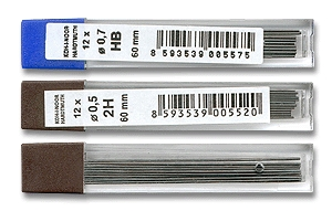 Tuhy do mikrotužky Koh-i-noor 0,3 - 0,9